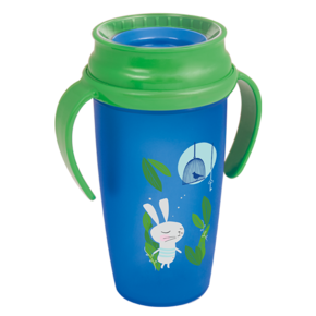 LOVI Kubek 360 ACTIVE 350 ml Follow the Rabbit Unisex